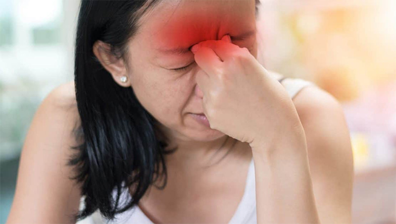 Viêm xoang chuyển biến nặng nề nếu không sớm phát hiện triệu chứng và chữa trị