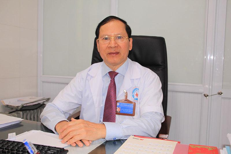 GS Nguyễn Đình Tảo là bác sĩ chữa vô sinh giỏi có tiếng ở miền Bắc