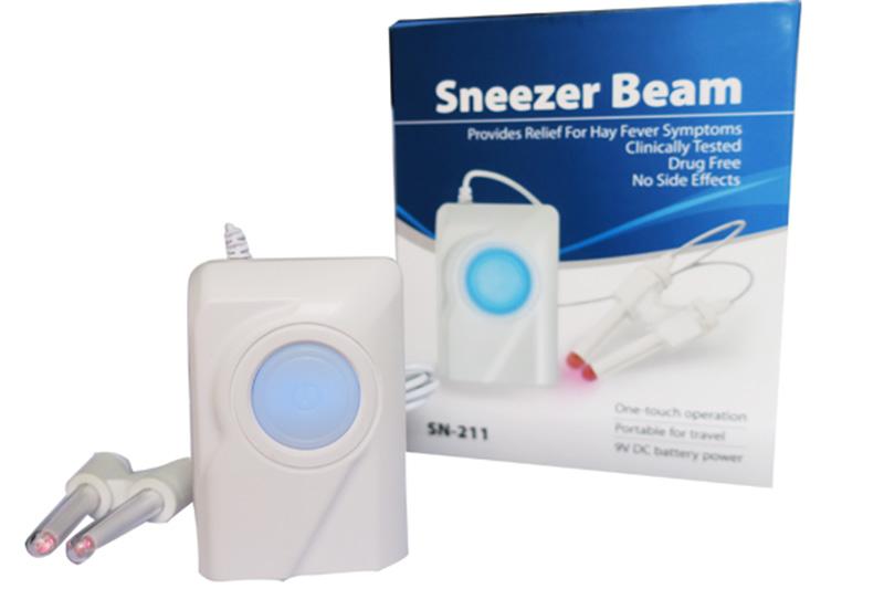 Máy chữa viêm mũi dị ứng Sneezer Beam khá phổ biến hiện nay
