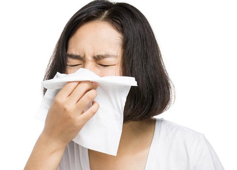Chảy nước mũi có thể là dấu hiệu của cảm cúm