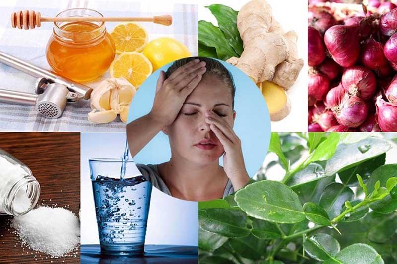 Các bài thuốc dân gian chữa chảy nước mũi được áp dụng rộng rãi