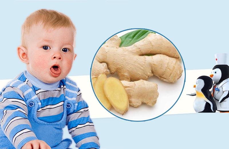 Gừng có tác dụng giúp tiêu thoát dịch đờm và chữa viêm họng