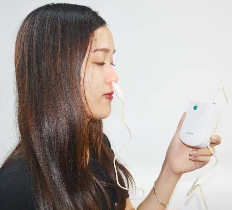 Máy trị viêm mũi an toàn và mang lại hiệu quả cao cho người dùng