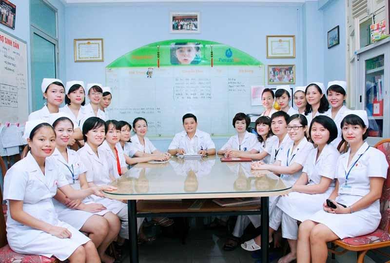 Đội ngũ bác sĩ Khoa Hỗ trợ sinh sản và Nam học - Bệnh viện Phụ sản Hà Nội