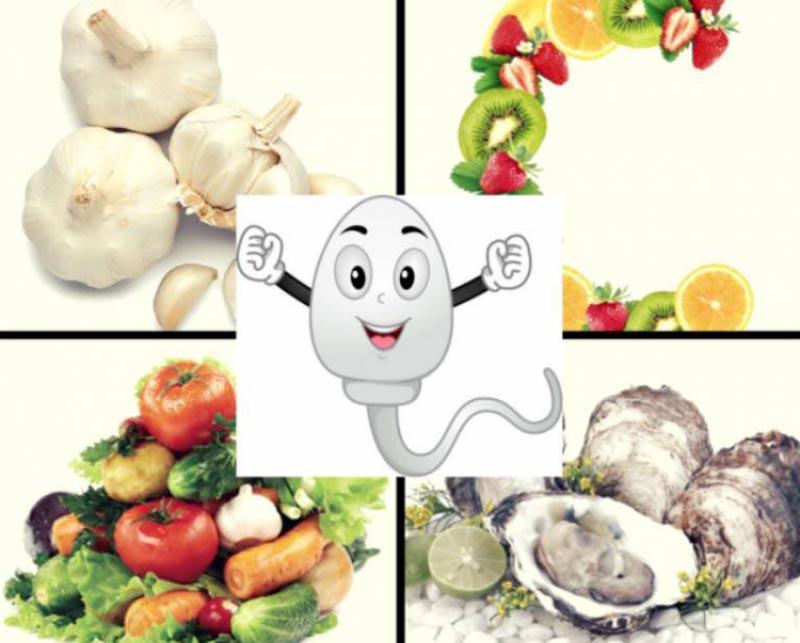 Bổ sung các loại thực phẩm tốt cho tinh trùng là một cách trị tinh trùng loãng tại nhà hiệu quả