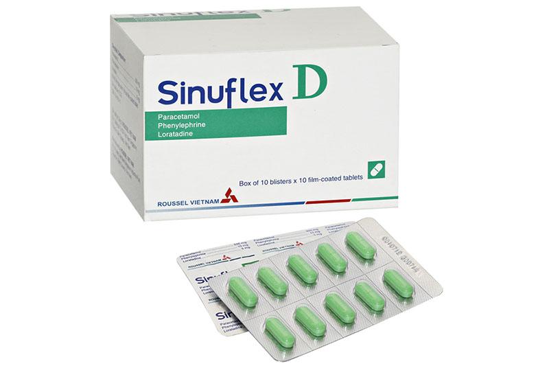 Thuốc Sinuflex D chỉ dùng cho người lớn và trẻ em trên 12 tuổi