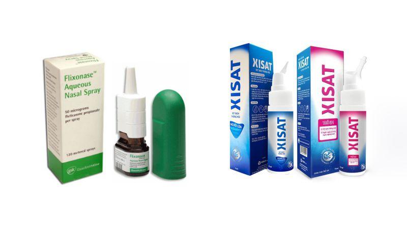 Thuốc xịt Flixonase và Xisat