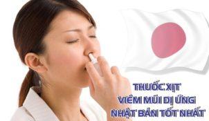 thuốc xịt viêm mũi dị ứng của nhật
