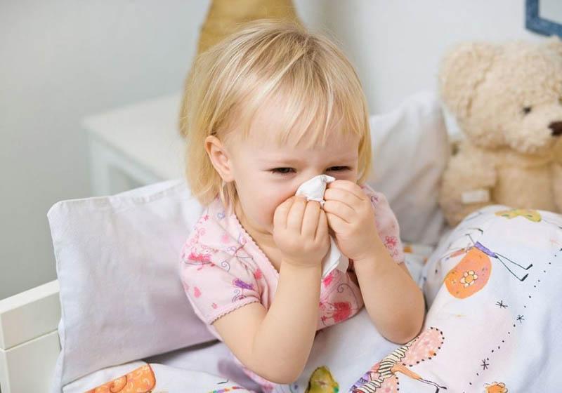 Trị sổ mũi cho trẻ