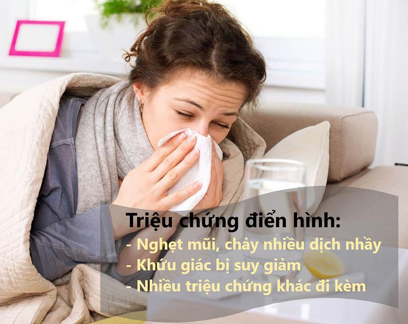 Các triệu chứng viêm mũi cấp gây khó chịu cho người bệnh