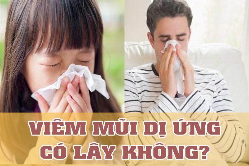 Người lớn và trẻ em đều có thể bị viêm mũi dị ứng