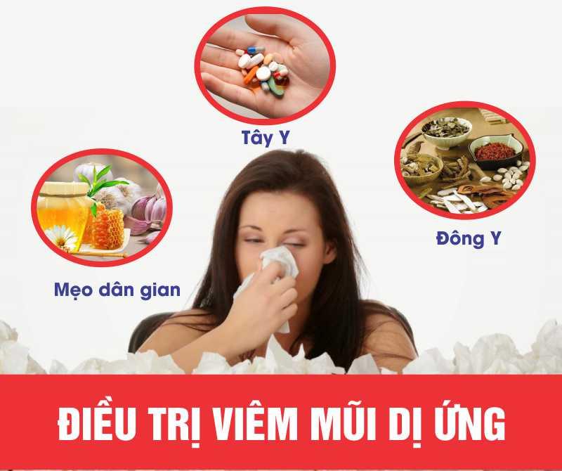 Có nhiều cách điều trị viêm mũi dị ứng