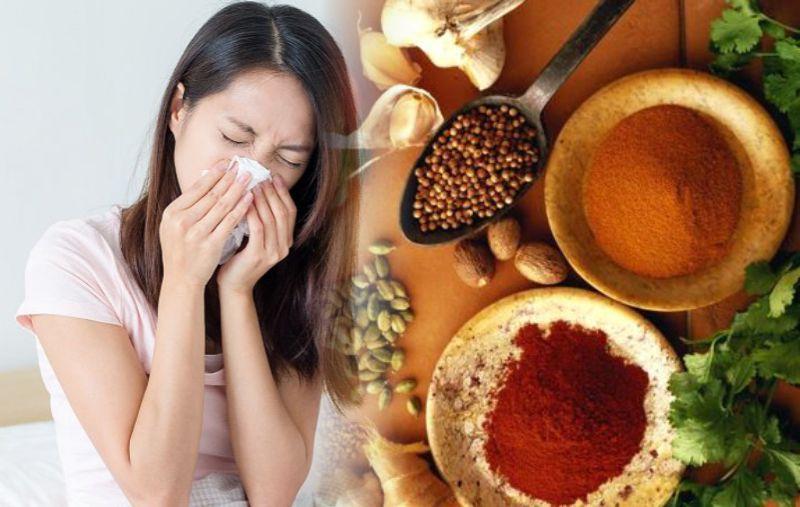 Thực phẩm cay nóng khiên bệnh viêm mụi dị ứng trầm trọng hơn