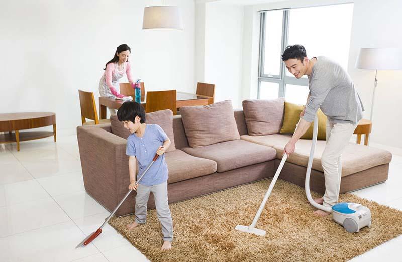 Người bệnh nên thường xuyên vệ sinh sạch sẽ môi trường sống