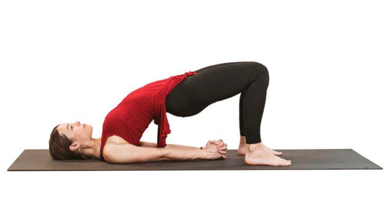 Tư thế Yoga Sethu Bandhasana
