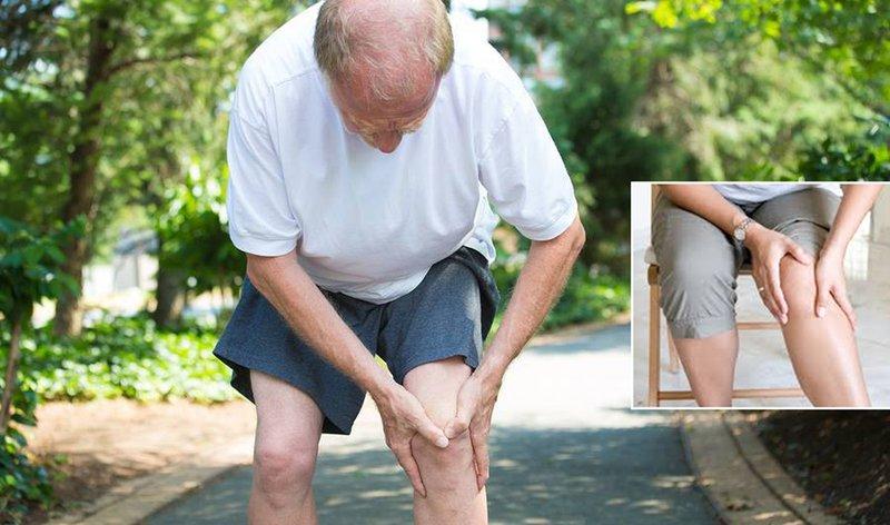 Viêm đau khớp gối có thể gặp ở nhiều đối tượng đặc biệt là người già