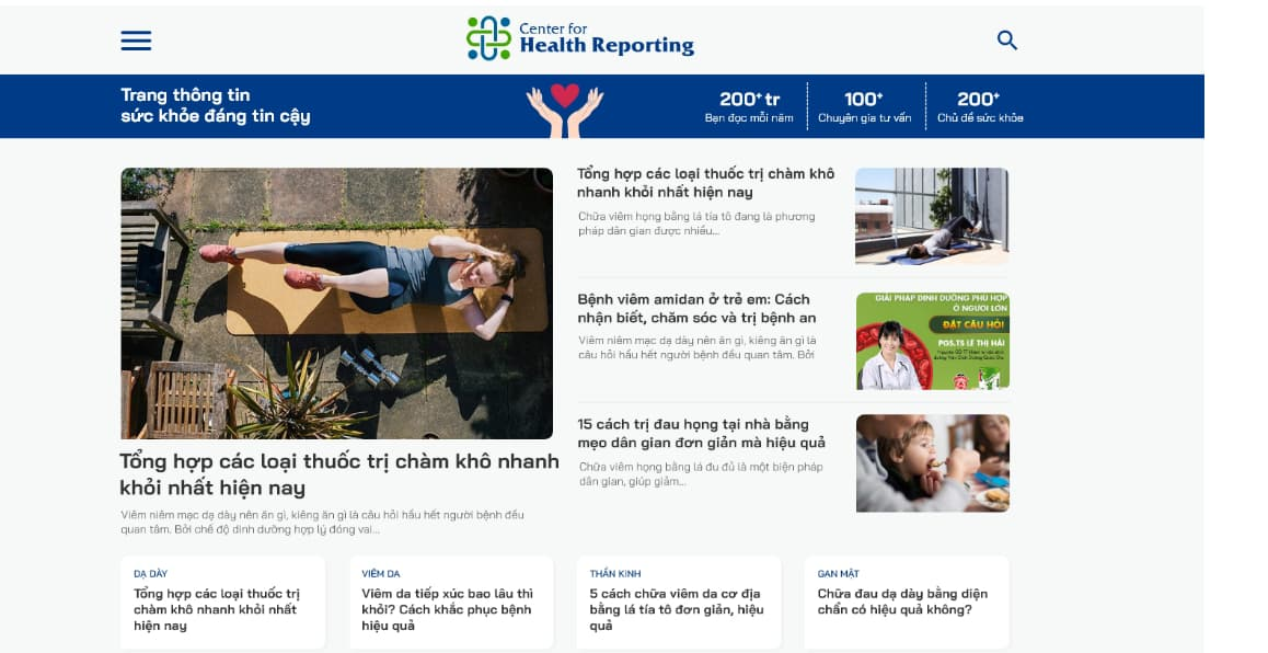 Center For Health Reporting