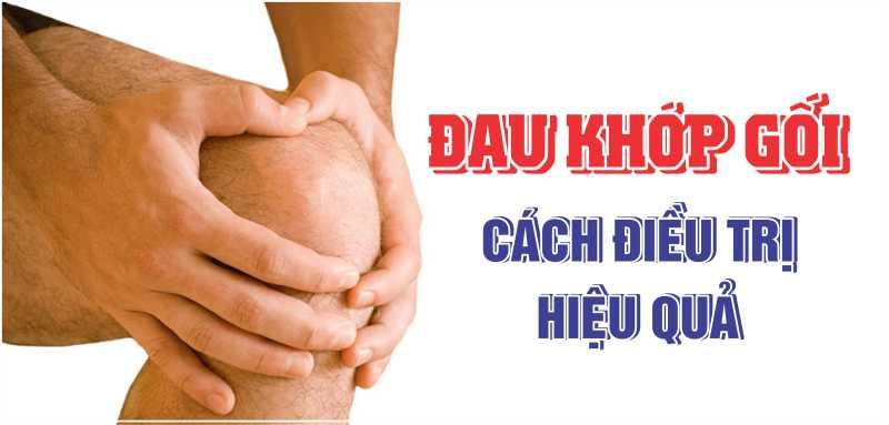 Những cách chữa đau khớp gối hiệu quả