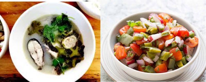 Những món ăn ngon chế biến từ xương rồng