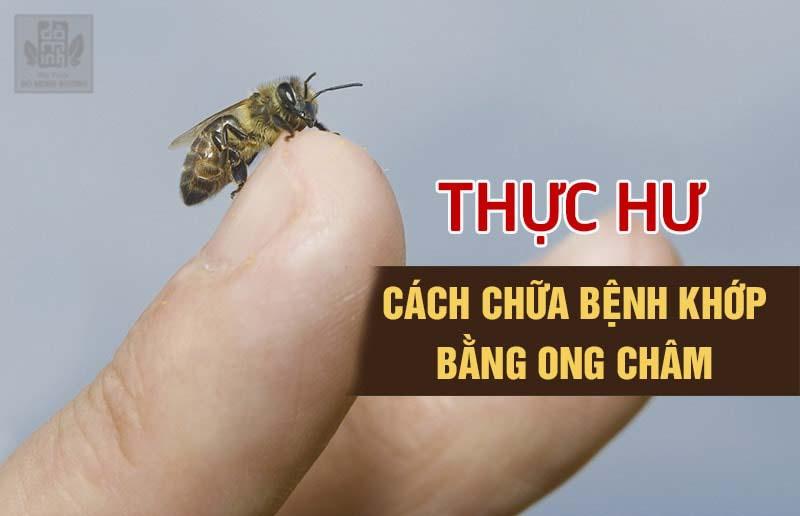 Chữa viêm khớp bằng ong châm là mẹo chữa được nhiều người truyền tai nhau áp dụng
