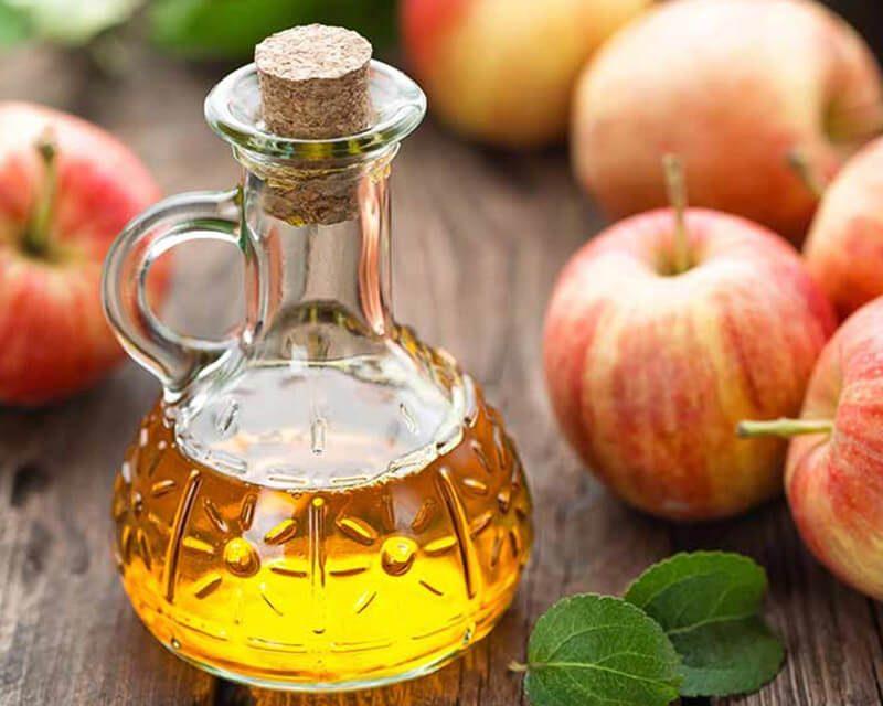 Giấm táo chứa nhiều axit amin, khoáng chất có tác dụng kháng khuẩn, diệt nấm