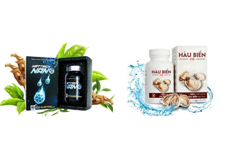 Thuốc Hattrick Nano và Tinh hàu biển OB