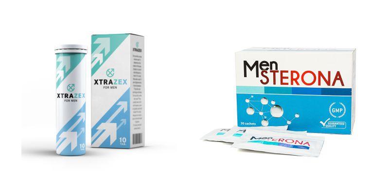 Viên sủi Xtrazex và Thuốc Mensterona