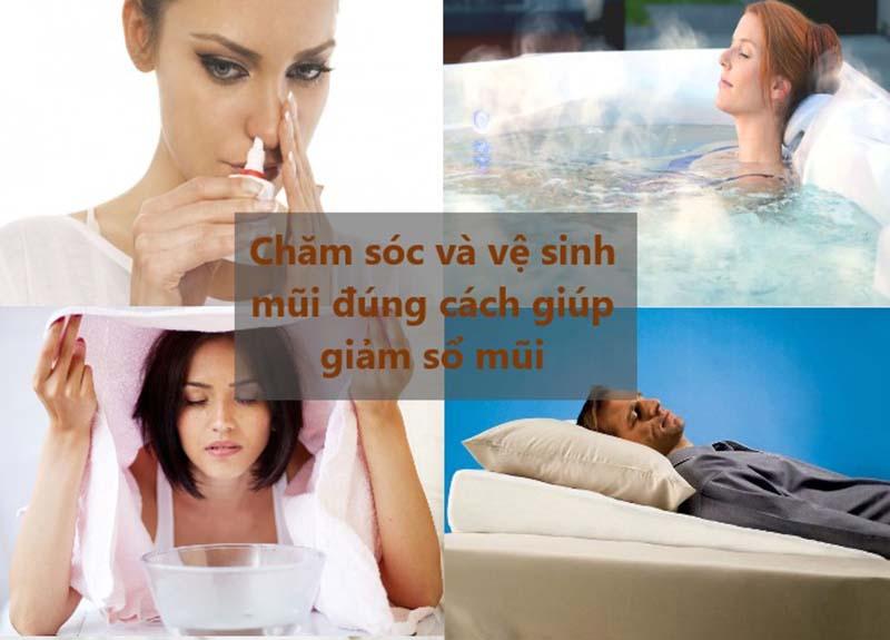 Chăm sóc và vệ sinh mũi đúng cách sẽ giúp giảm sổ mũi nhẹ ở người lớn