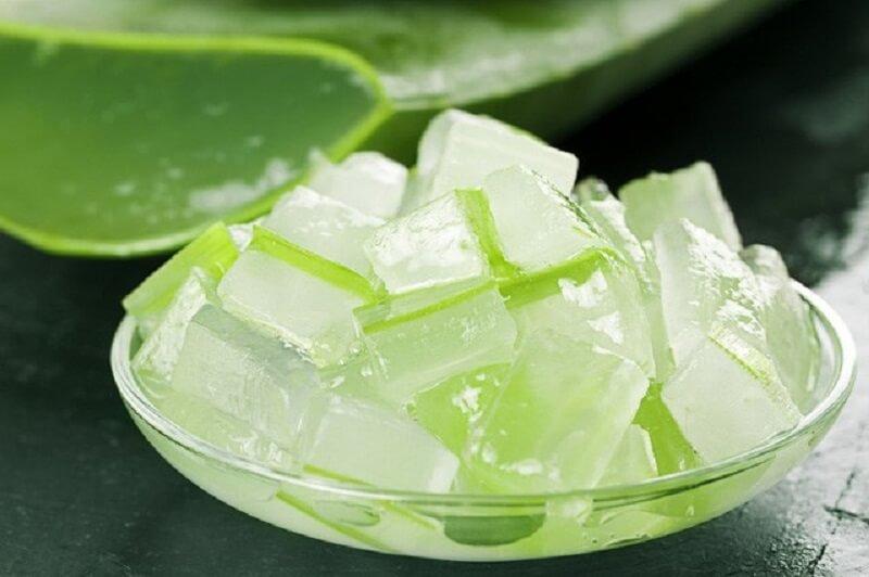Gel nha đam có chứa nhiều vitamin và khoáng chất giúp giảm ngứa hiệu quả