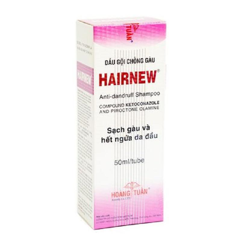 Dầu gội Hairnew loại bỏ nấm, nuôi dưỡng tóc chắc khỏe
