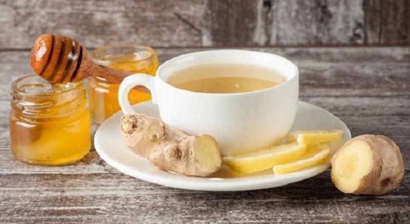 Gừng và mật ong giúp đẩy lùi các triệu chứng viêm họng kéo dài