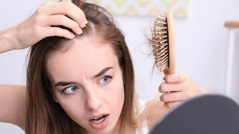 dị ứng thuốc nhuộm tóc gây rụng tóc ngứa đầu