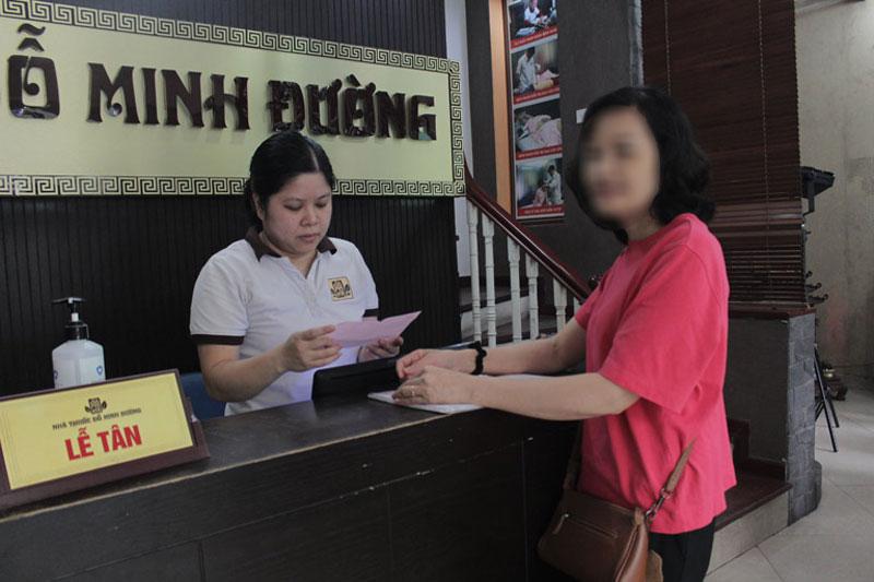 Trước khi đến Đỗ Minh Đường, cô Hạnh đã tìm hiểu khá nhiều thông tin về nhà thuốc