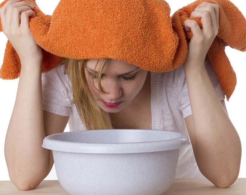 Xông hơi giúp lưu thông khí huyết, giảm tiết dịch