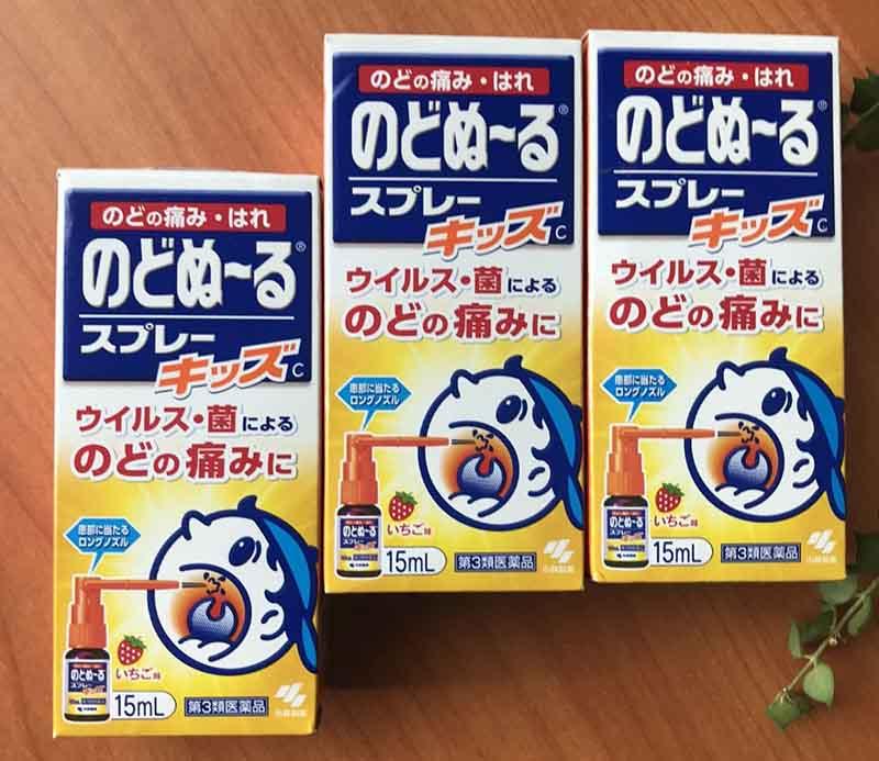 Thuốc chữa viêm họng Kobayashi của Nhật Bản được bệnh nhân ưa chuộng