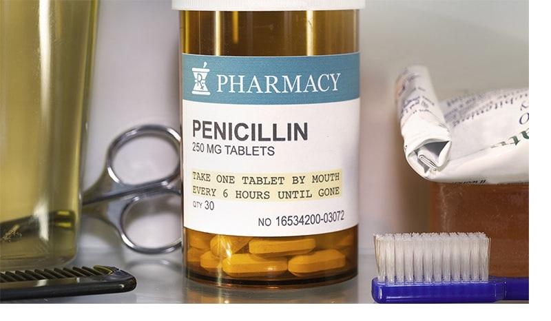 Thuốc kháng sinh điều trị viêm họng Penicillin