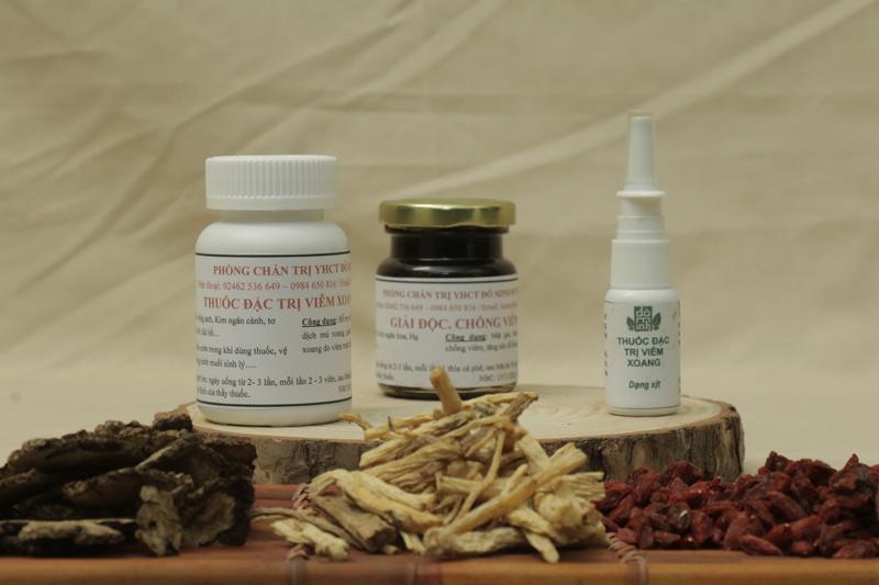 Bài thuốc nam đặc trị bệnh viêm xoang, viêm mũi Đỗ Minh Đường