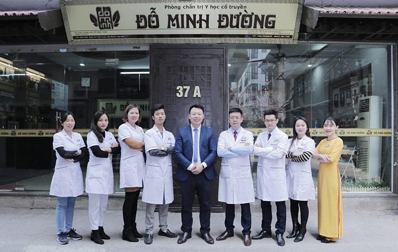 Đội ngũ y bác sĩ nhà thuốc Đỗ Minh Đường luôn nỗ lực vì người bệnh