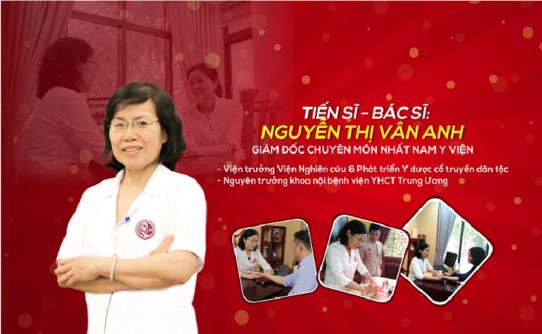 Tiến sĩ - Bác sĩ CKII Nguyễn Thị Vân Anh - vị thần y trong điều trị sinh lý nam giới