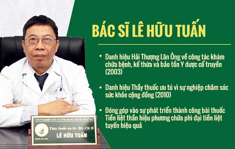 Bác sĩ Lê Hữu Tuấn đánh giá cao về bài thuốc Gout Đỗ Minh