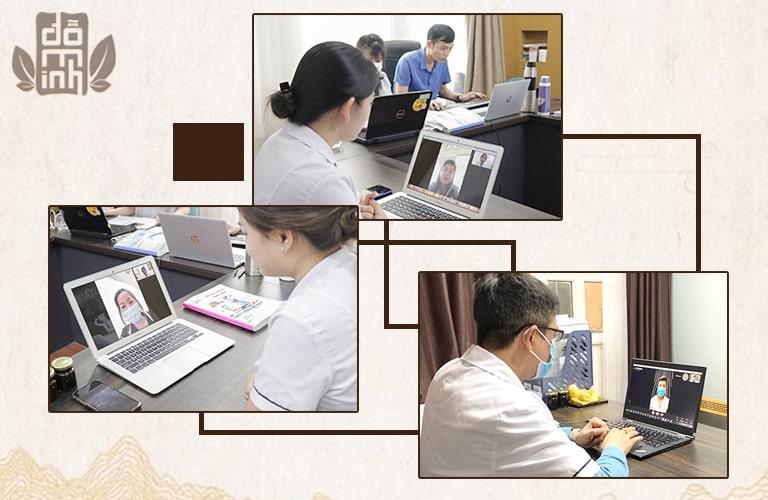 Dịch vụ thăm khám bệnh trực tuyến của Đỗ Minh Đường