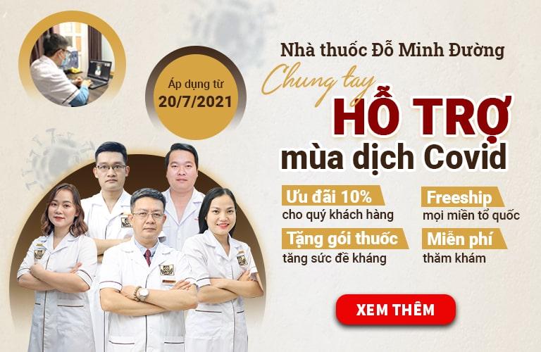 Nội dung chương trình hỗ trợ mùa dịch của Đỗ Minh Đường