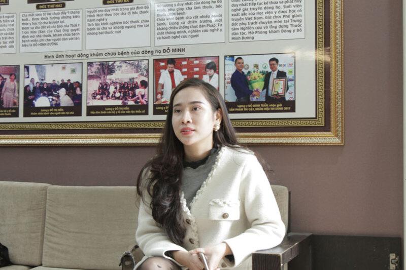 Chị Nhật tin tưởng lựa chọn nhà thuốc Đỗ Minh Đường để thăm khám bệnh viêm nấm âm đạo