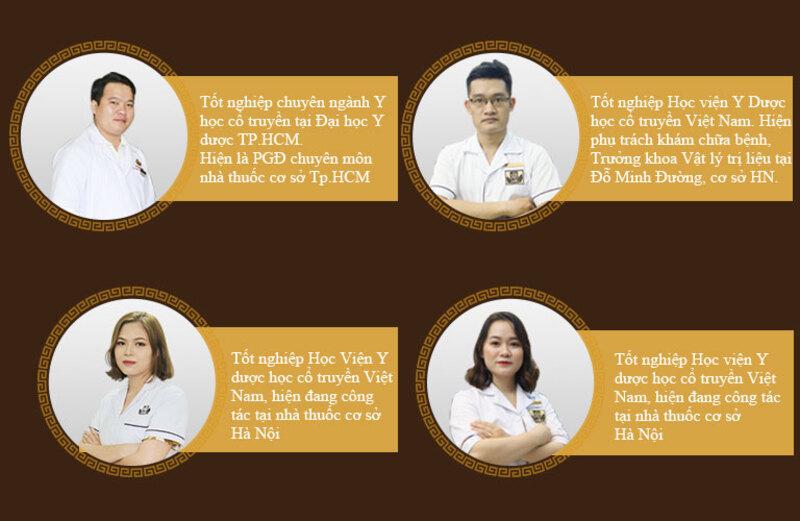 Đội ngũ lương y giàu TÂM - ĐỨC - TÀI của nhà thuốc Đỗ Minh Đường