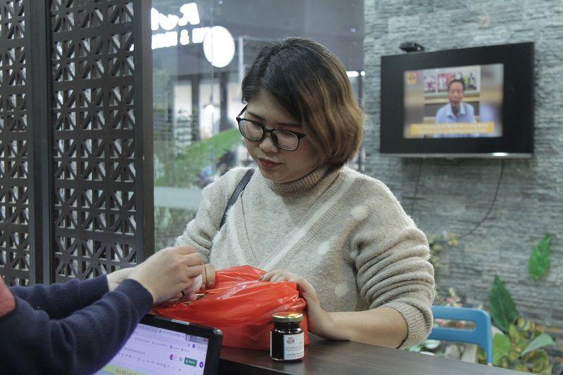 Mẹ bầu Thanh tại Đỗ Minh Đường