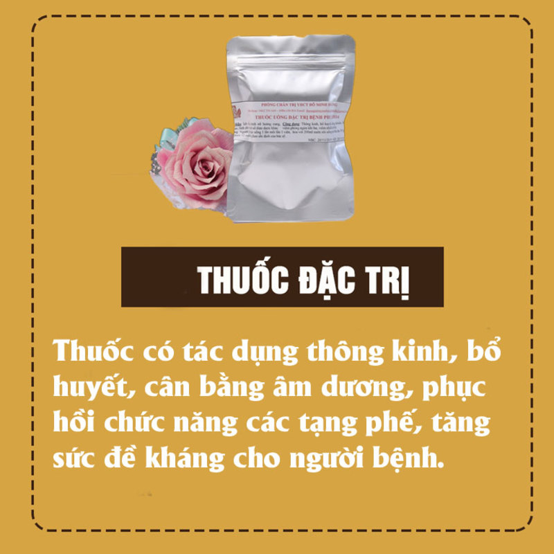 Thuốc uống đặc trị nấm âm đạo Phụ Khang Đỗ Minh
