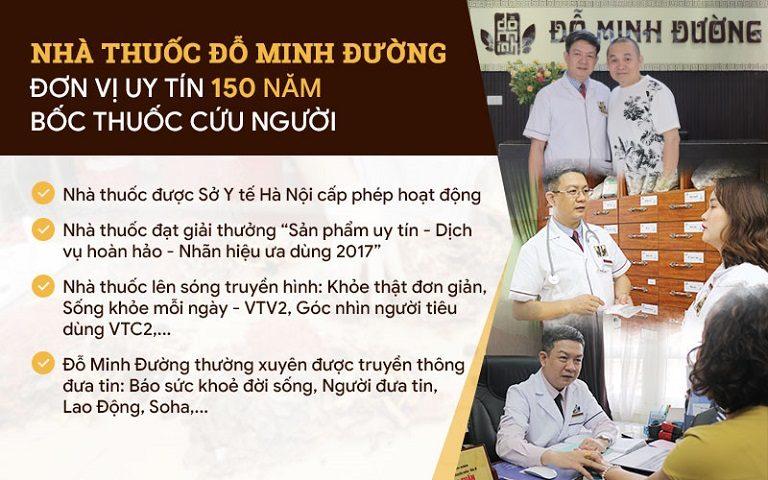 Nhà thuốc Đỗ Minh Đường - Địa chỉ khám chữa uy tín