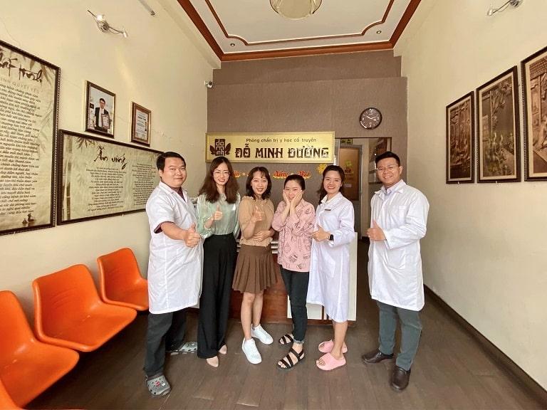 Đội ngũ nhân viên, bác sĩ nhà thuốc Đỗ Minh Đường cơ sở TP Hồ Chí Minh