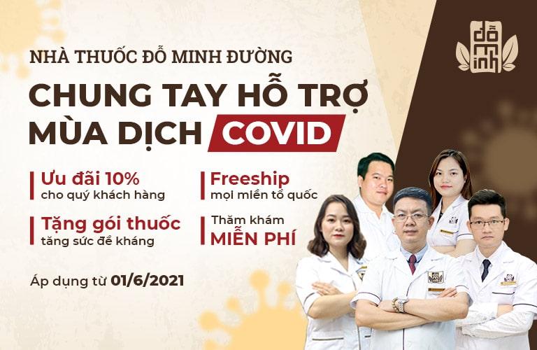 Chương trình ưu đãi Chung tay hỗ trợ mùa dịch COVID của Đỗ Minh Đường