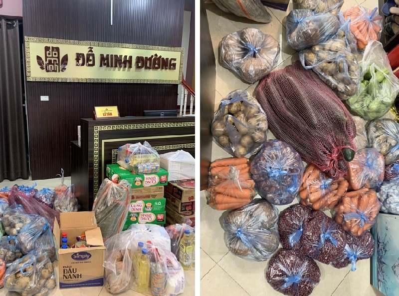 Nhà thuốc Đỗ Minh Đường chuẩn bị hàng trăm suất quà gửi miền nam